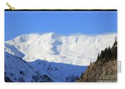 Wind Blows Over The Kenai Mountains Alaska Carry-all Pouch