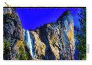 Winter Bridalveil Falls Carry-all Pouch