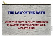Murphy's Law Of Nature Carry-all Pouch