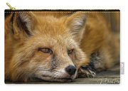 Russian Red Fox Carry-all Pouch