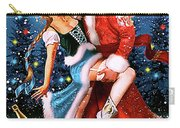 Vintage Soviet Holiday Postcard Carry-all Pouch