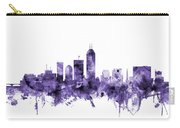 Indianapolis Indiana Skyline Carry-all Pouch