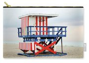 13th Street Lifeguard Tower - Miami Beach Carry-all Pouch