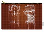 1876 Brewing Cooler - Dark Red Blueprint Carry-all Pouch