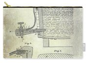 1881 Beer Faucet Patent Carry-all Pouch