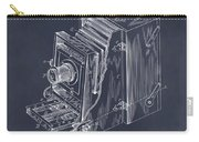1887 Blair Photographic Camera Blackboard Patent Print Carry-all Pouch