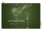 1892 Ships Anchor - Dark Green Blueprint Carry-all Pouch