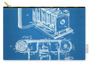 1899 Photographic Camera Patent Print Blueprint Carry-all Pouch