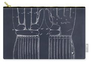 1914 Hockey Gloves Blackboard Patent Print Carry-all Pouch
