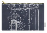 1919 Anesthetic Machine Blackboard Patent Print Carry-all Pouch