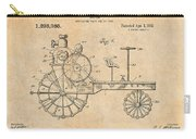 1919 Antique Tractor Antique Paper Patent Print Carry-all Pouch