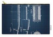 1919 Baseball Bat - Dark Blueprint Carry-all Pouch