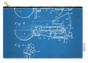 1924 Ice Cream Scoop Blueprint Patent Print Carry-all Pouch