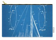 1927 Herreshoff Sail Boat Patent Print Blueprint Carry-all Pouch