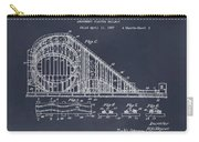 1927 Roller Coaster Blackboard Patent Print Carry-all Pouch