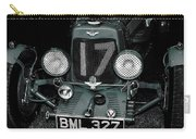 1934 Aston Martin Ulster Race Car Carry-all Pouch