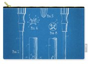 1935 Phillips Screw Driver Blueprint Patent Print Carry-all Pouch