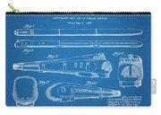 1935 Union Pacific M-10000 Railroad Blueprint Patent Print Carry-all Pouch