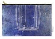 1937 Whiskey Barrel Patent Carry-all Pouch