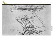 1939 Dump Truck Gray Patent Print Carry-all Pouch