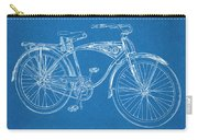 1939 Schwinn Bicycle Blueprint Patent Print Carry-all Pouch
