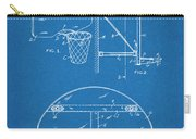 1944 Basketball Goal Blueprint Patent Print Carry-all Pouch