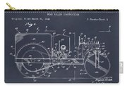 1946 Road Roller Blackboar Patent Print Carry-all Pouch