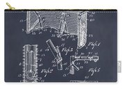 1947 Hockey Goal Patent Print Blackboard Carry-all Pouch