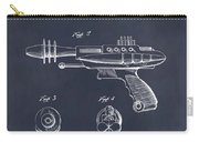 1953 Ray Gun Toy Pistol Blackboard Patent Print Carry-all Pouch