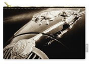 1964 Jaguar Mk2 Saloon Hood Ornament And Emblem-1421bscl Carry-all Pouch