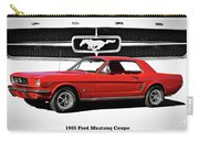 1965 Mustang 289 Coupe Carry-all Pouch
