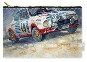 1977 Rallye Monte Carlo Skoda 130 Rs Blahna Hlavka Winner Carry-all Pouch