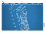 1988 Motorola Cell Phone Blueprint Patent Print Carry-all Pouch