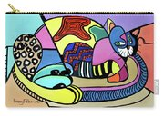 A Cat Named Picasso Carry-all Pouch by Anthony Falbo