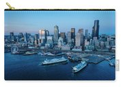 Aerial View Of A City, Seattle, King Carry-all Pouch
