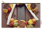 Autumn Wreath Carry-all Pouch