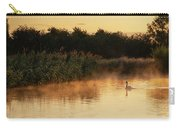 Beautiful Dawn Landscape Image Of River Thames At Lechlade-on-th Carry-all Pouch