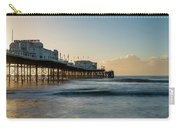 Beautiful Vibrant Sunrise Landscape Image Of Worthing Pier In We Carry-all Pouch