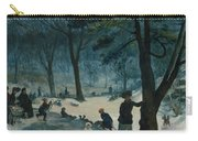 Central Park, Winter Carry-all Pouch