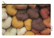 Colored Yarn Carry-all Pouch