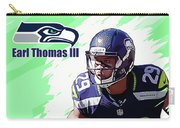 Earl Thomas,seattle Seahawks. Carry-all Pouch