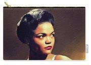 Eartha Kitt, Hollywood Legend Carry-all Pouch