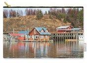 Halibut Cove Kenai Peninsula Alaska Carry-all Pouch
