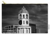 Halifax Town Clock 2017 Black  And White Carry-all Pouch