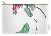Hibiscus 2 -  Watercolor By Ahmet Asar Carry-all Pouch