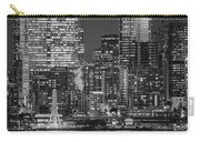 Illuminated City At Night, Seattle Carry-all Pouch