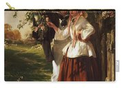 Lovers Under A Blossom Tree Carry-all Pouch