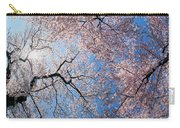 Low Angle View Of Cherry Blossom Trees Carry-all Pouch