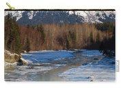 Portage Creek Portage Glacier Highway, Alaska Carry-all Pouch
