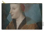 Portrait Of A Noblewoman Carry-all Pouch